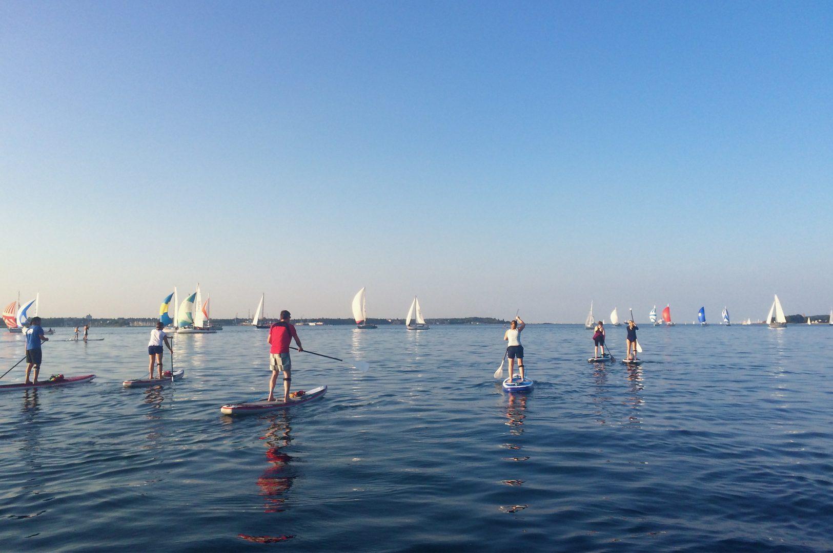 SUP Kurse Ostsee für Fortgeschrittene