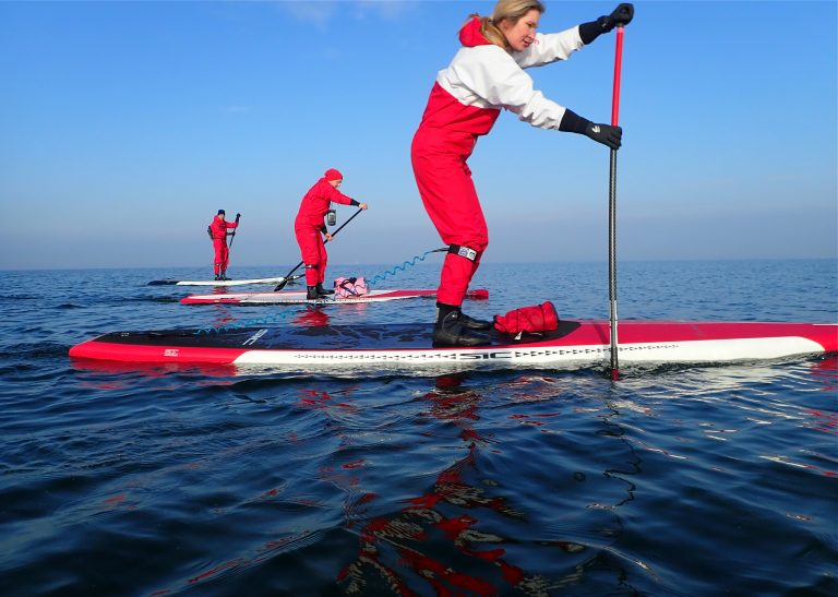 SUP Sport in unserer After Work SUP Gruppe 2