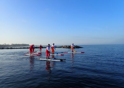 SUP Schule Kiel - Winter SUP Tour bei Windstille